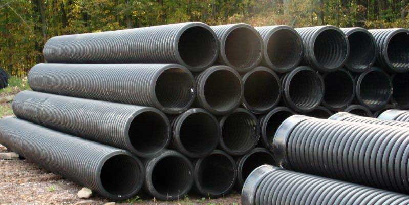 Drainage pipe and materials at marie turner inc