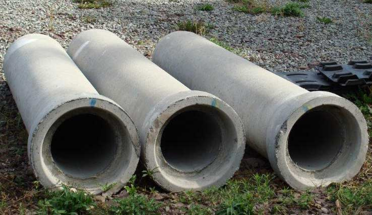Precast Concrete Sewer Pipe : Drainage pipe and materials at marie turner inc